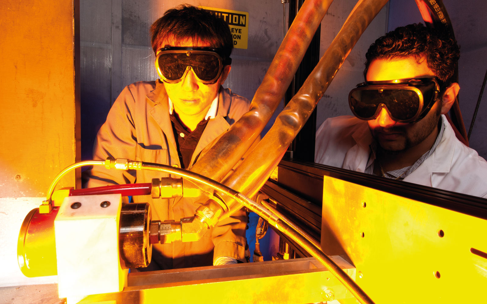 Plasma Forming Lab Students